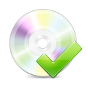 Disc disk yes tick ok accept check