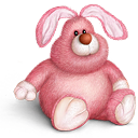 Bunny teddy toy cute bear