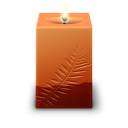 Square candle