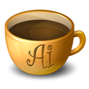 Coffee java illustrator drink meal food adobe