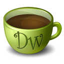 Coffee java drink meal dreamweaver food adobe