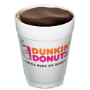 Open drink dunkin donuts coffee