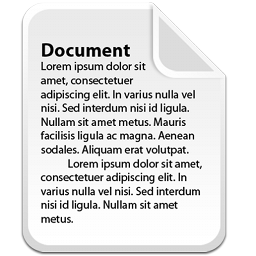 Doc paper file document