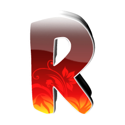 R English Characters 64px Icon Gallery