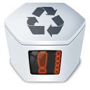 Trash system recycle bin full