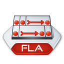 Adobe flash fla