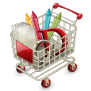 Full shopping shoppingcart cart buy basket