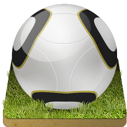 Soccer ball grass football sport