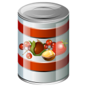 Food meal canned