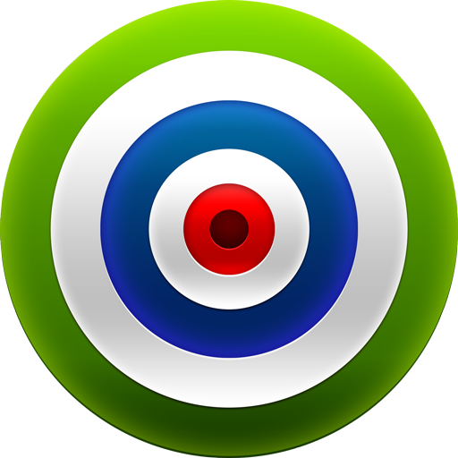 Green Target / Target Dart / 128px / Icon Gallery