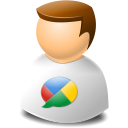 User customer logo social browser face buzz google person