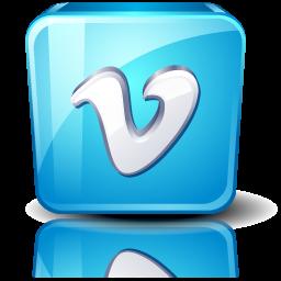Logo Social Vimeo High Detail Social 256px Icon Gallery