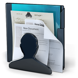 Customer User Document Doc Person File Files Paper Face Software Folder Genesis 3g 24px Icon Gallery
