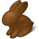 Rabbit chokolate easter