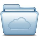 Folder cloudy cloud weather