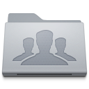 Folder people group forum person customer user face