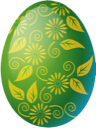 Egg easter green