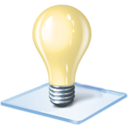 Tip Windows Bulb Os Idea Light Bulb Red Windows 7 128px Icon Gallery