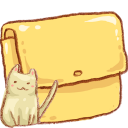 Folder cat pet animal