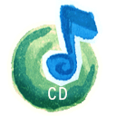 Audio cd disk disc