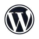 Wordpress social logo