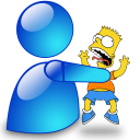 Msn simpsons msn icon