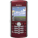 Pearl blackberry red cell mobile cellphone phone call telephone contact