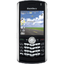 Pearl blackberry mobile black cellphone cell telephone phone call contact