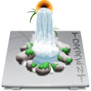 Application software app torrent social logo