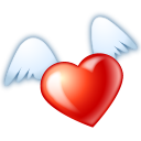 Favourite flying fav heart love valentine