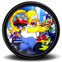 Simpsons hit run futurama
