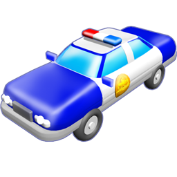 Car police auto vehicle transport train police station music instrument