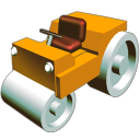 Road dozer bulldozer