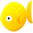Cat fish animal yellow