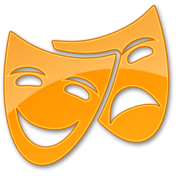 Theater Yellow Show Cinema Points Of Interest 32px Icon Gallery