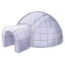 Igloo ice