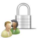 Padlock user customer person control face