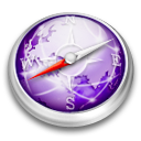 Safari purple browser