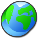 Earth globe world internet network