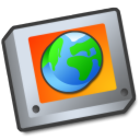 Folder world globe earth network internet