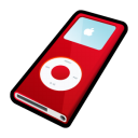 Ipod nano red player mp3