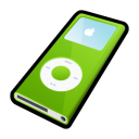 Ipod nano green player mp3
