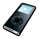 Ipod nano black player mp3