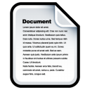 Document doc file paper tools video flyp book image icon
