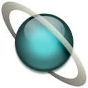 Uranus saturn icon flower