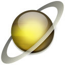 Saturn jupiter icon