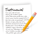 Testimonial document file write