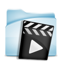 Video movie film record audio icon