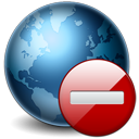 World globe stop earth internet network