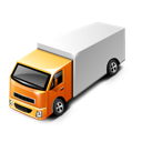 Truck car logistic delivery transport